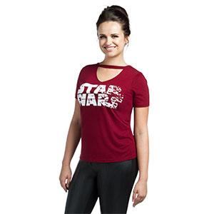 555d9e76f0 Star Wars női piros póló – My Blog